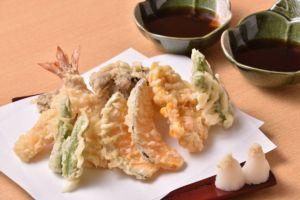 天ぷら特盛り合わせ